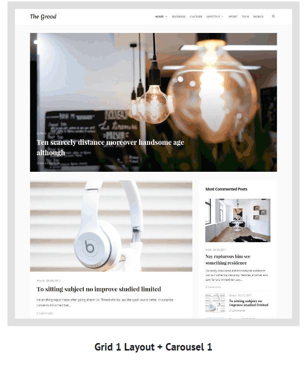 Grood - Persönliches Blog & Magazin WordPress Theme - 4