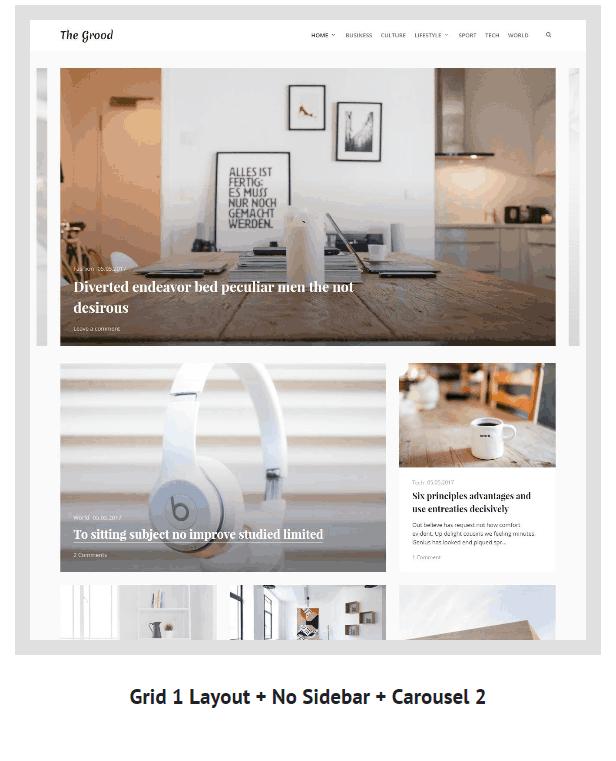 Grood - Persönliches Blog & Magazin WordPress Theme - 5